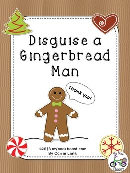 Disguise a Gingerbread Man