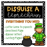 Disguise a Leprechaun- Family Project
