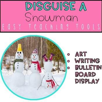 Disguise a Snowman Craftivity