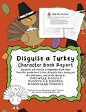 Disguise a Turkey Character Book Report