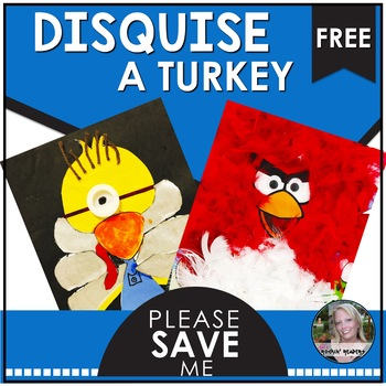 Disguise a Turkey Freebie