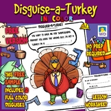Disguise-a-Turkey In Color! - Thanksgiving Craft - Free
