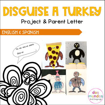 Disguise a Turkey Project English & Spanish