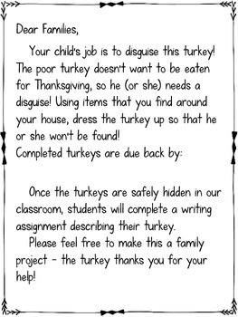 Disguise a turkey project freebie by the fabulous life of an disguise a turkey project freebie maxwellsz