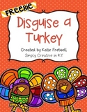 Disguise a Turkey Project Freebie