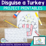 Disguise a Turkey Craft Project with Seesaw Activity for D