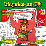 Disguise-an-Elf - Christmas Paper Craft