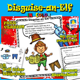Disguise-an-Elf In Color - Christmas Paper Craft - FREE