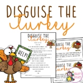 Disguise the Turkey Activity with Writing Assignments