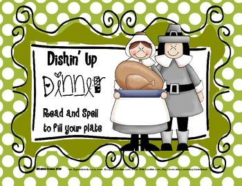 Dishin' Up Dinner: A Thanksgiving Game  for the Primary Grades