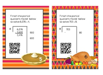 Dishing Up Pumpkin Pie and Partial Quotient Division