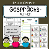 Diskussionskarten - Gesprächskarten - German communication starter cards