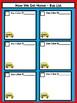 Dismissal Bus List - Dr. Seuss Tribute Colors