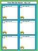 Dismissal Bus List - Lime & Teal