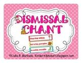 Dismissal Chant