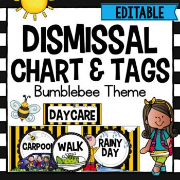Dismissal Chart- Bee Theme