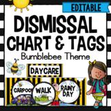 Dismissal Chart- Bee Theme- Editable