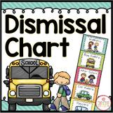 Dismissal Chart {Brights Classroom Set}