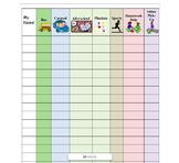 Dismissal Chart, Classroom Organization Tool, Back to School