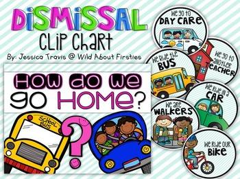 Dismissal Clip Chart {freebie}