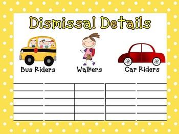 Dismissal Detail Kit