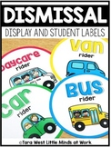 Dismissal Display and Student Labels