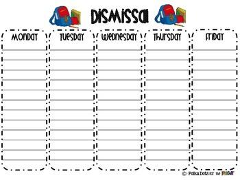 Dismissal Forms