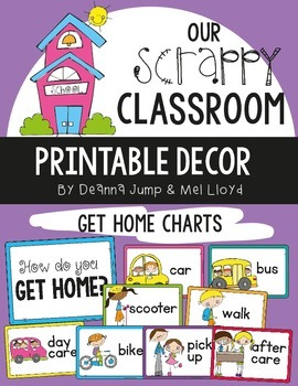 Dismissal: How We Go Home Chart and Bookbag Tags