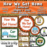 Dismissal Posters / Clip Chart / How We Get Home  APT-001