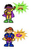 Dismissal Posters - Superhero Theme (Editable)