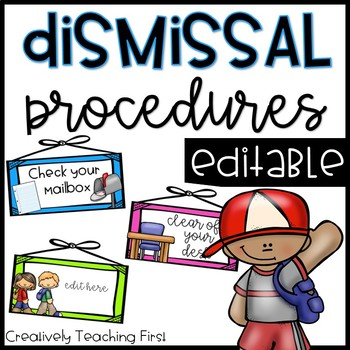 Dismissal Procedures- EDITABLE