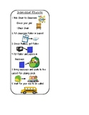 Dismissal Routine Visual for Students
