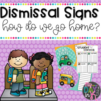 Dismissal Chart and Signs