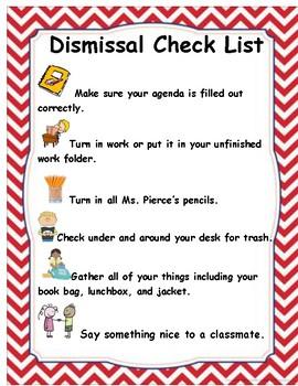 Dismissal Time Management