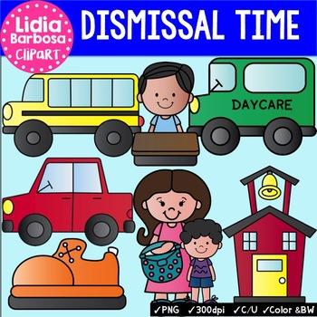 Dismissal Time clip art for Teachers