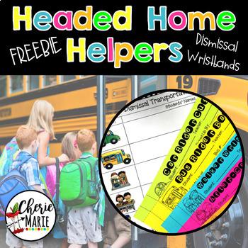 Back to School Dismissal Transportation Bracelets (Wristbands)