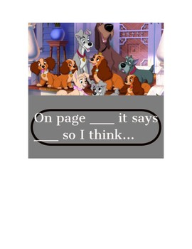 Disney Accountable Talk Phrase Posters