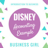 Disney Example for Financial Statements (Introduction to A