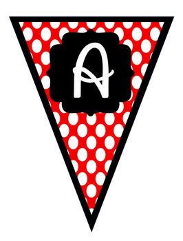 Disney Alphabet Banner