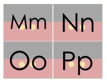 Disney Alphabet Cards