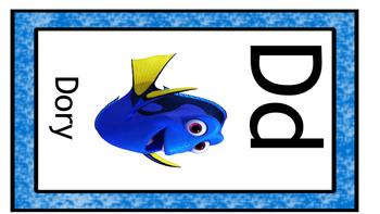 Disney Alphabet Cards  UPDATED
