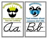 Disney Alphabet Line (ELA terms included)