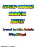 PE Disney & Animated Movie Character Locomotor Pathways Journey!