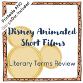 Disney Animated Shorts Viewing Guide: Analysis/Literary Terms Review