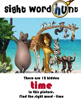 Disney Animated Word Hunt set 5