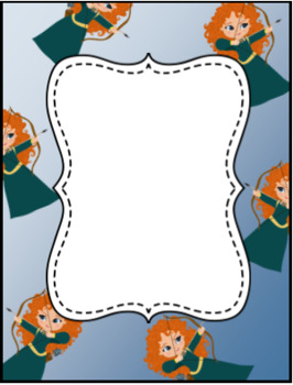 Disney Background Papers & Borders or Frames
