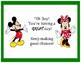 Disney Behavior Chart