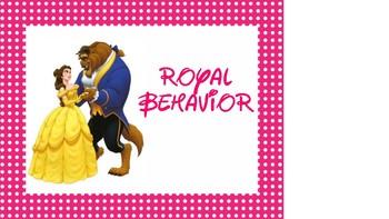 Disney Behavior Chart new cards