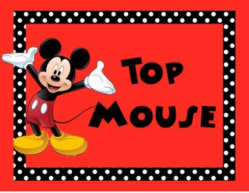 Disney Behavior Clip Chart