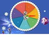 PPT: Disney Cartoon Forzen Game Theme Prize Wheel/Name/Gif